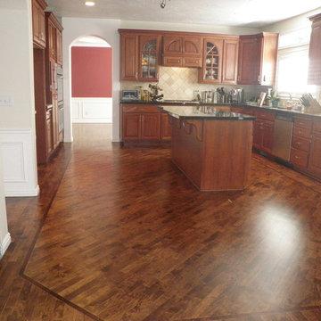 Allison's Maple Floor Refinish