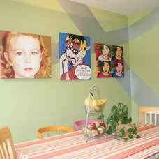 Eclectic Kitchen by AllPopArt.com - Custom Artwork
