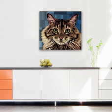 Contemporary Kitchen by AllPopArt.com - Custom Artwork