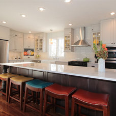 Traditional Kitchen by Merritt's Quality Cabinets