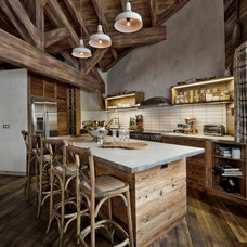 Rustic Kitchen by Inspired Dwellings