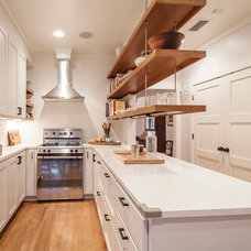 Transitional Kitchen by Moontower Design Build