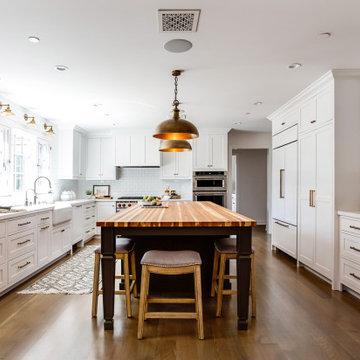 Altadena Modern Farmhouse: Kitchen