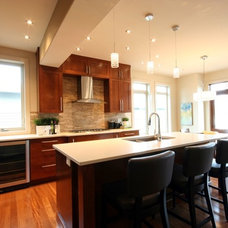 Contemporary Kitchen by Benchland Homes & Design