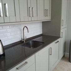 Contemporary Kitchen by Cheshire Granite Worktops