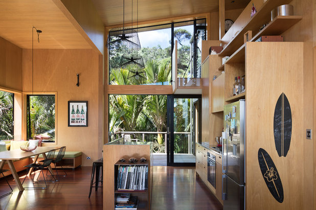 Contemporary Kitchen by Carolyn Gundy - C-Architecture