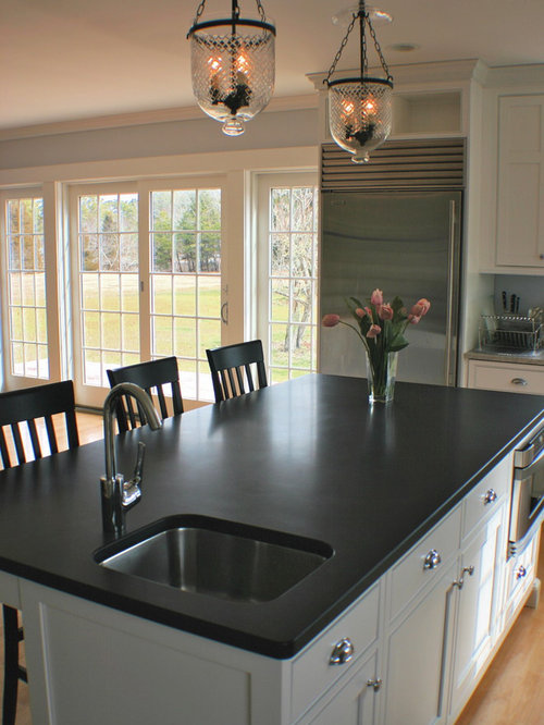 Absolute Black Honed Granite Houzz