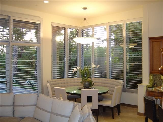 Modern Window Treatments by French Brothers Custom Shutters