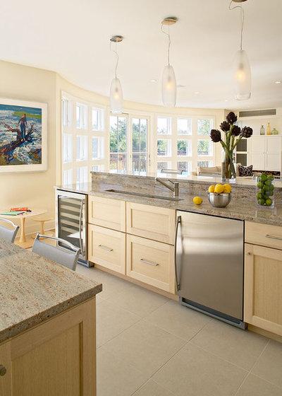 Beach Style Kitchen by Kitchens & Baths, Linda Burkhardt
