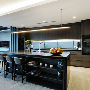 This is an example of a contemporary kitchen in Gold Coast - Tweed.
