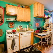 Eclectic Kitchen by Chris A. Dorsey Photography
