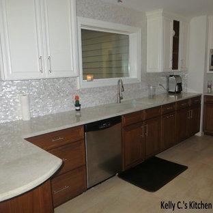 Transitional kitchen photo in San Diego