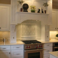 Traditional Kitchen by Bella Tile and Stone