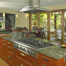 Contemporary Kitchen by Lowe's Portland Maine