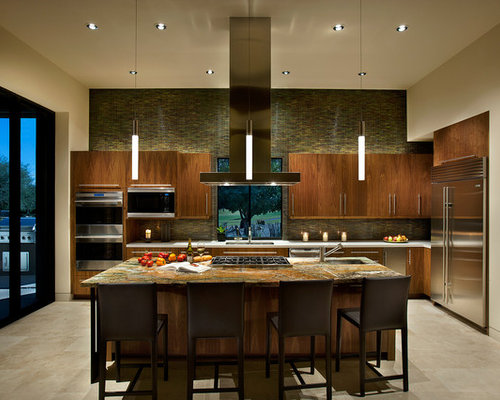 Kitchen center island houzz for Kitchen center island ideas