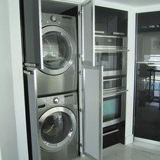 Contemporary Kitchen by CaRozo Design Co.