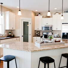 Transitional Kitchen by Jim Tibbe Homes