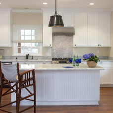 Beach Style Kitchen by Flagg Coastal Homes