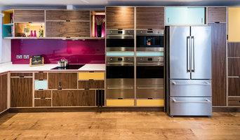 American black walnut veneered birch plywood kitchen/diner