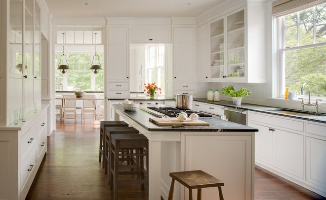 Traditional Kitchen by Donald Lococo Architects