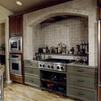 Rustic Ranch Kitchen by Design House, Inc. - Rustic - Kitchen - Houston - by Design House, Inc
