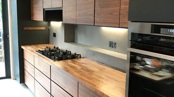 American Walnut Bespoke Kitchen