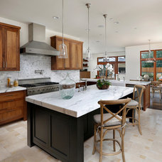 Traditional Kitchen by Simpson Design Group Architects
