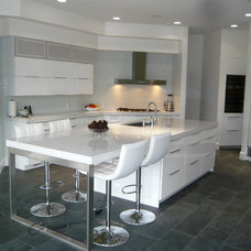 Contemporary Kitchen by Amy Gallo, NCIDQ, ASID