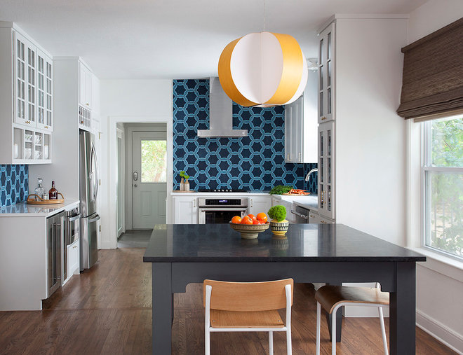 Midcentury Kitchen by Ryann Ford Photography