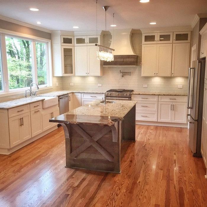 Elegant Shaker Kitchen