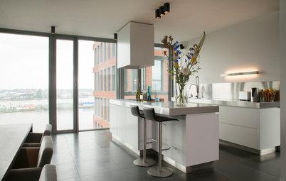 My Houzz: Harbor Views in a Modern Amsterdam Loft