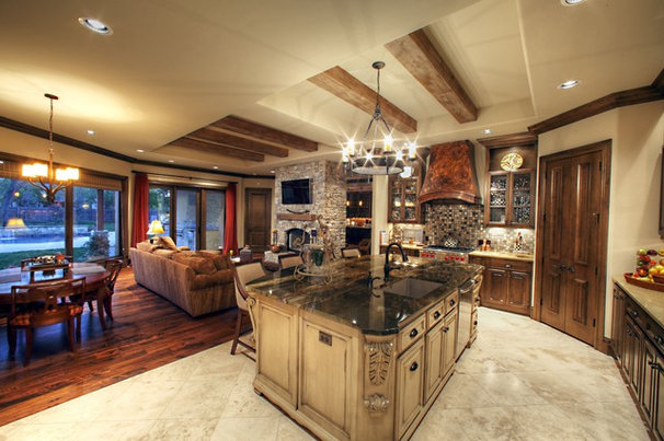 Traditional Kitchen by Cornerstone Homes by Chris Moock, LLC