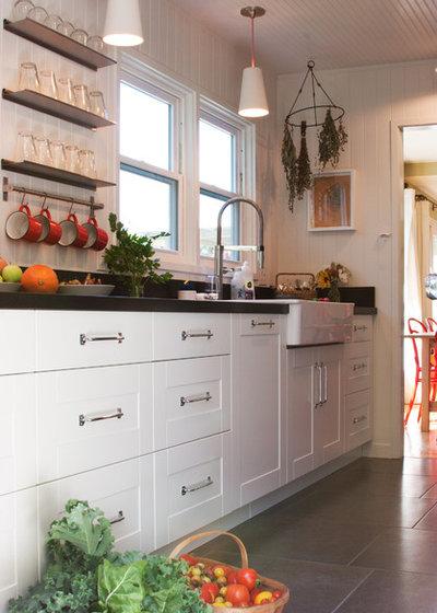 Farmhouse Kitchen by Amy A. Alper, Architect