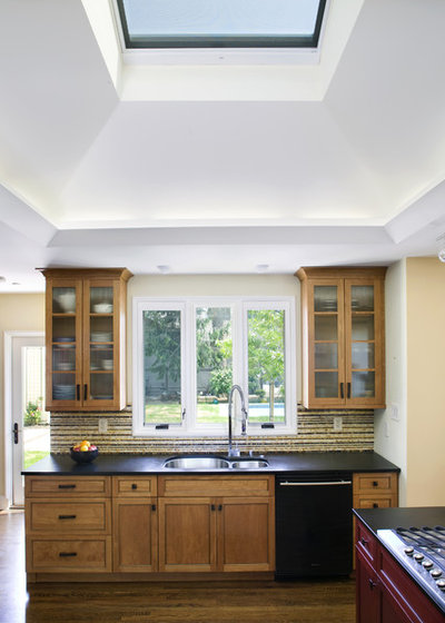 Transitional Kitchen by Amy A. Alper, Architect