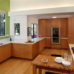 contemporary kitchen by Amy A. Alper