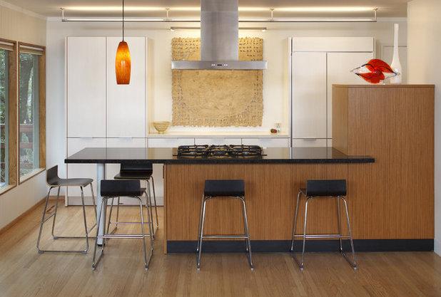 Modern Kitchen by Amy A. Alper, Architect