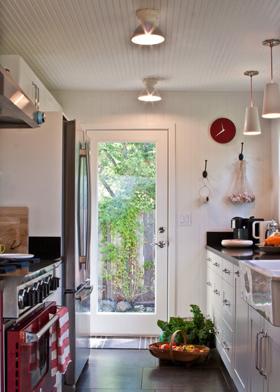 Farmhouse Kitchen by Amy A. Alper, Architect