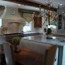 Traditional Kitchen by Amy Birdsong
