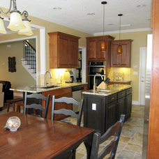 Traditional Kitchen by Amy's Affordable Interiors