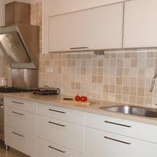 Contemporary Kitchen by Pratim Studio