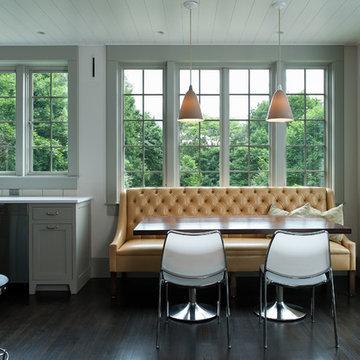 An Artisan Kitchen at a Briarcliff Hilltop
