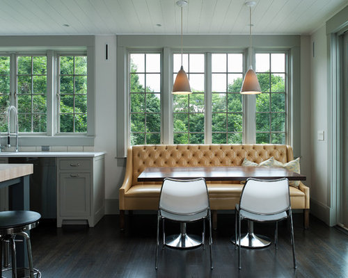 Design Ideas For A Contemporary Kitchen Diner In New York