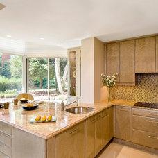 Transitional Kitchen by Tibma Design Build