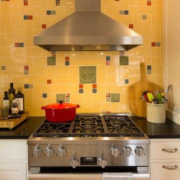 An Arts & Crafts Style Kitchen