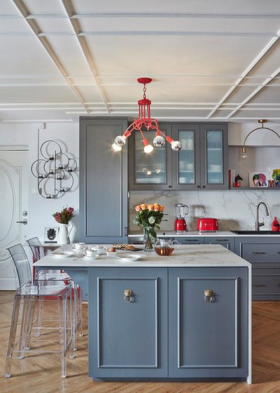 Eclectic Kitchen by Three-d Conceptwerke