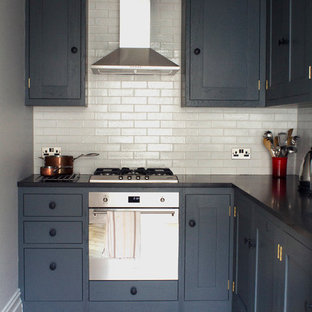 An Industrial Shaker Kitchen