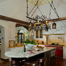 Mediterranean Kitchen by John Malick & Associates
