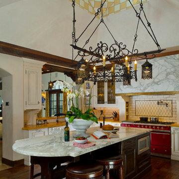 An Italian Villa, Carmel, California