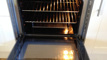 An oven clean