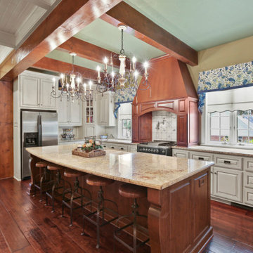 An Updated French Provincial kitchen and home